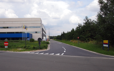 Entrance of the Technology Park